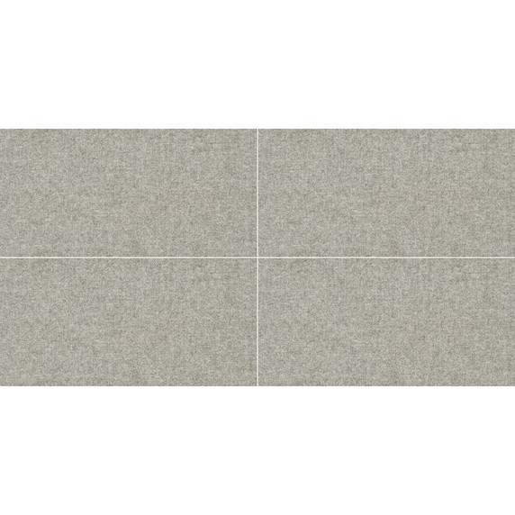 MS International Tektile Series: Hopasack Gray 12X24 Matte Porcelain Tile NTEKHOPGRA1224