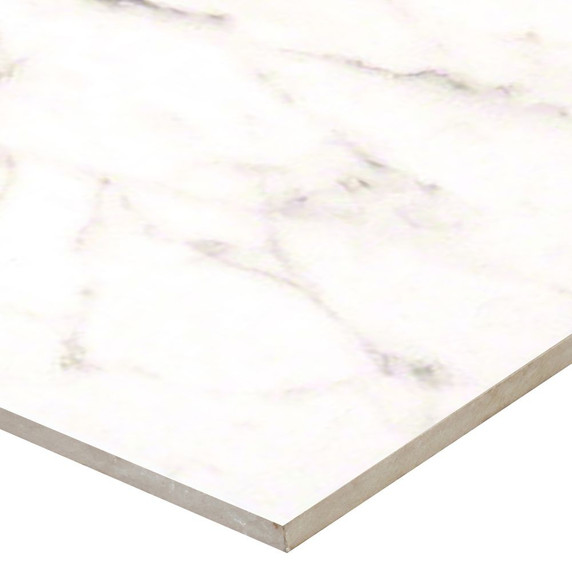 MS International Essentials Series: White Vena 12X24 Ceramic Tile Matte NWHIVEN1224
