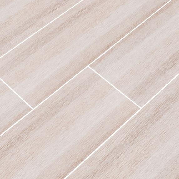 MS International Turin Series: Bianco 6x24 Matte Ceramic Tile NTURBIA6X24