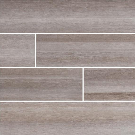 MS International Turin Series: Grigio 6x24 Matte Ceramic Tile NTURGRI6X24