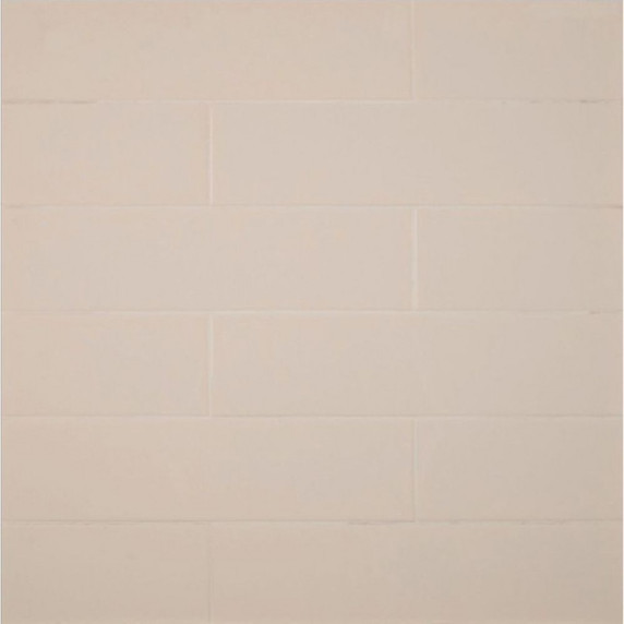 MS International Backsplash Series: Almond Glossy 4X16 Subway Tile NALMGLO4X16