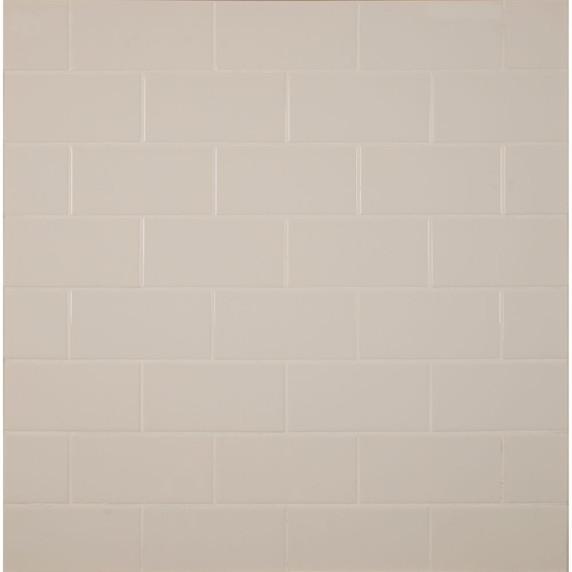 MS International Backsplash Series: Almond 3X6 Glossy Subway Tile NALMGLO3X6