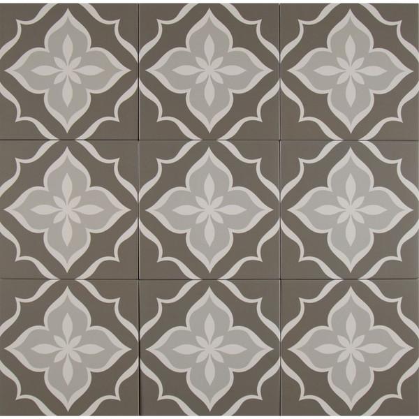 MS International Kenzzi Series: La Fleur 8X8 Matte Porcelain Tile NLAF8X8
