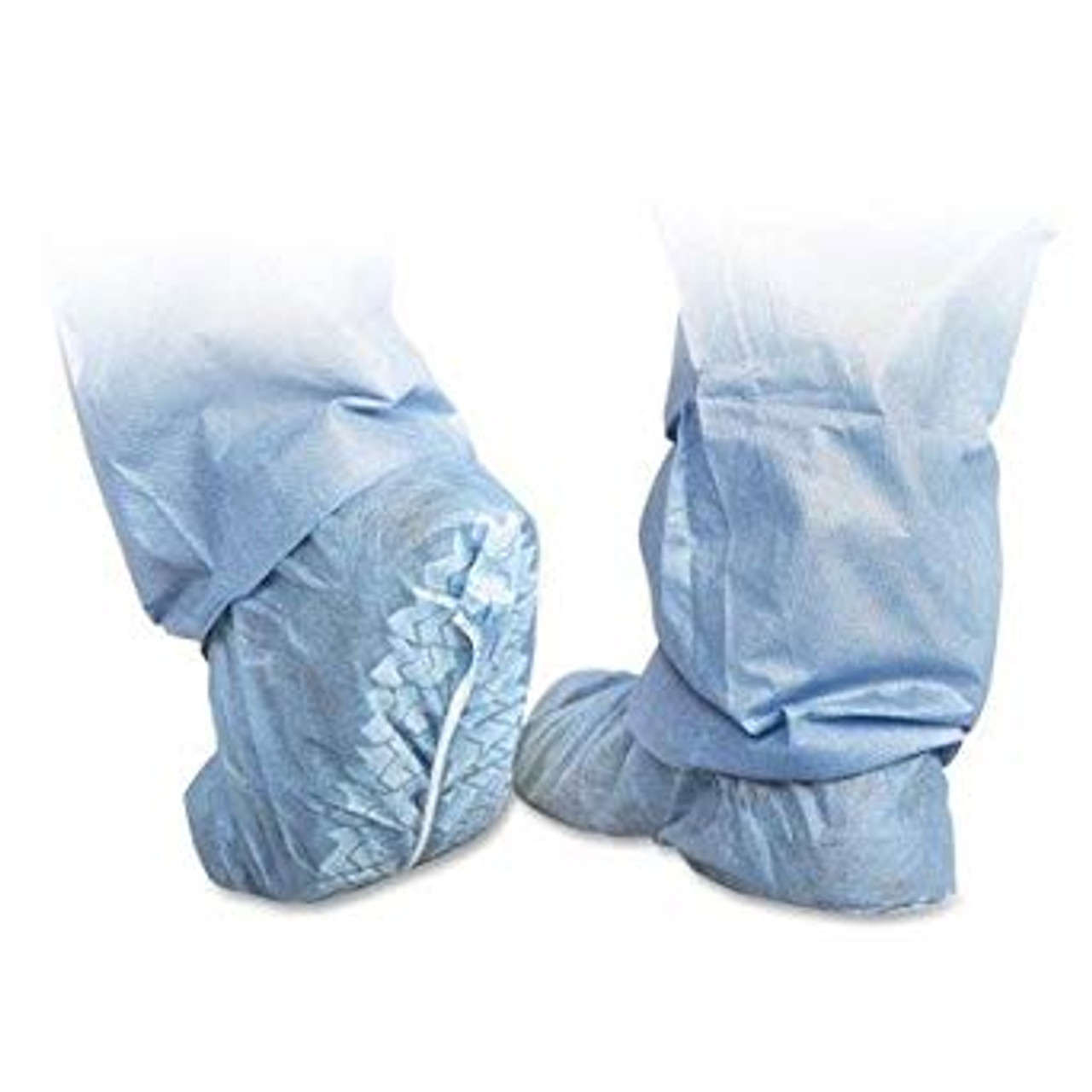 Polypropylene Non-Skid Shoe Covers Blue 100/Box