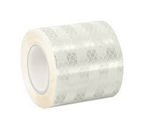 "White/Silver Reflective Tape - 1.5"" x 5 yd"