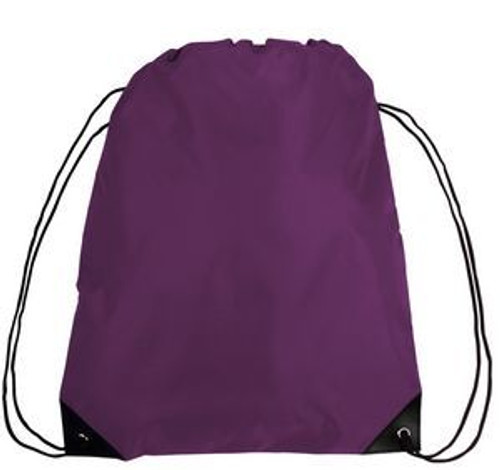 Bag - Custom Drawstring w/Reinforced Corners (Box of 100)