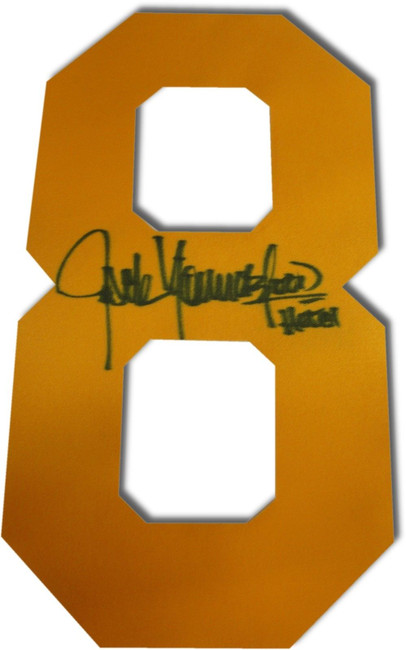 Jack Youngblood Signed Autographed Yellow #8 Jersey # ONLY Los Angeles Rams COA