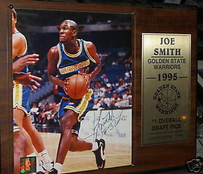 Joe Smith Autographed Signed Plaque  Scoreboard Cert