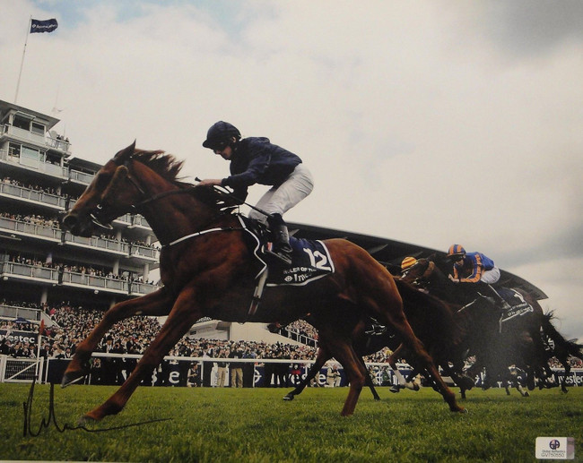 Ryan Moore Hand Signed Autographed 11x14 Photo Aboard Ruler Of World GA750550