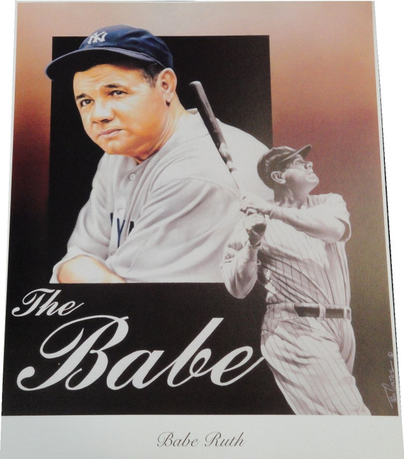 Babe Ruth 13x17 Poster Photo Unsigned New York Yankees Brand NEW