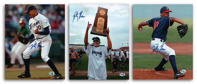 3 Different Ricky Romero Signed 8X10 Photos Autographs Cal State Titans Auto COA