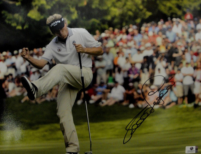 Bernhard Langer Hand Signed Autographed 11x14 Photo Golf Masters GA 750517