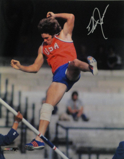Bruce Jenner Signed Autograph 16x20 Photograph Olympic 1976 USA Hurdles Caitlyn