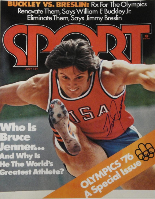 Bruce Jenner Signed Autograph 16x20 Photograph USA Olympic Gold Medal Caitlyn