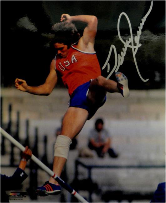 Bruce Jenner Signed Autographed 8x10 Photo Olympic Gold Kardashians Jump Caitlyn