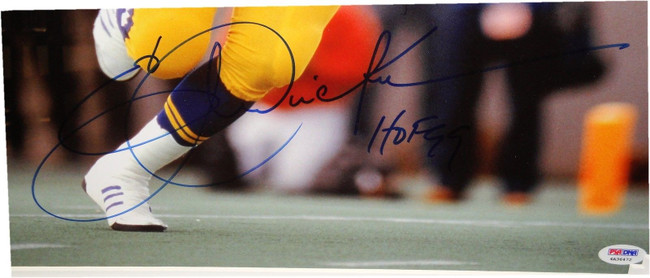 53b61803e Eric Dickerson Hand Signed Autographed Custom Framed 16x20 Photograph PSA  DNA