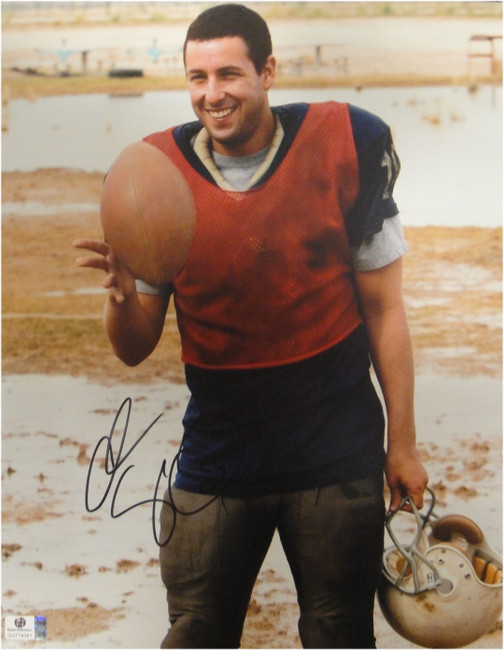Adam Sandler Signed Autographed 11X14 Photo The Longest Yard Football GA774341