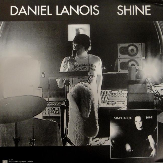 Daniel Lanois Unsigned Album Poster Flat 2003 Shine