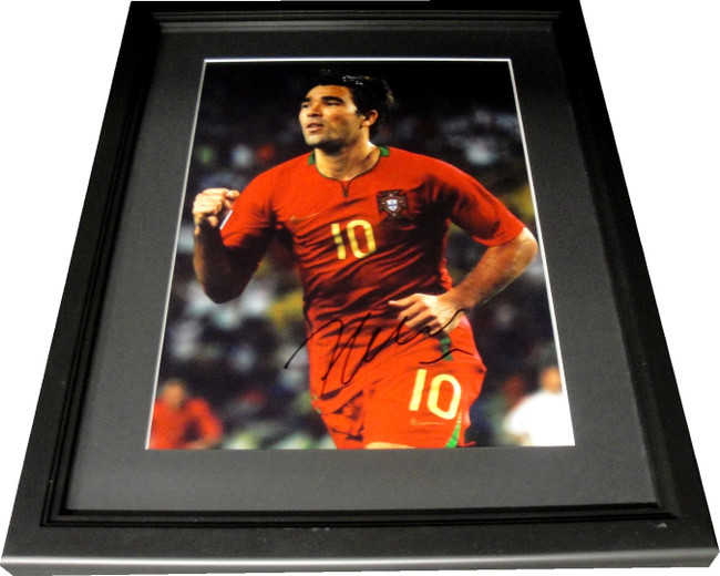 Anderson Luis de Souza Deco Signed 11x14 Photo Custom Framed Online Auth