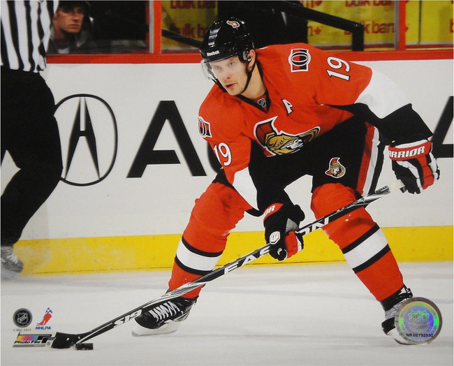 Jason Spezza Unsigned 8x10 Photo Ottawa Senators UDA