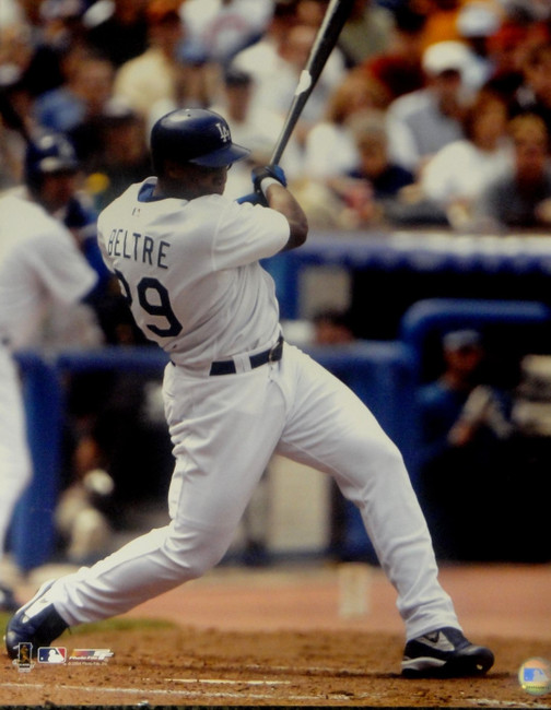 Adrian Beltre Unsigned 16x20 Photo Los Angeles Dodgers Big Swing Home