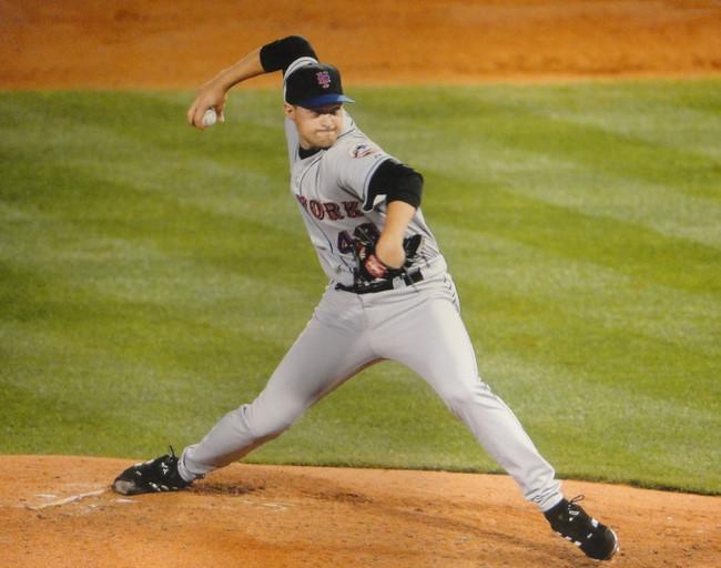 Aaron Heilman Unsigned 16x20 Photo New York Mets Pitching