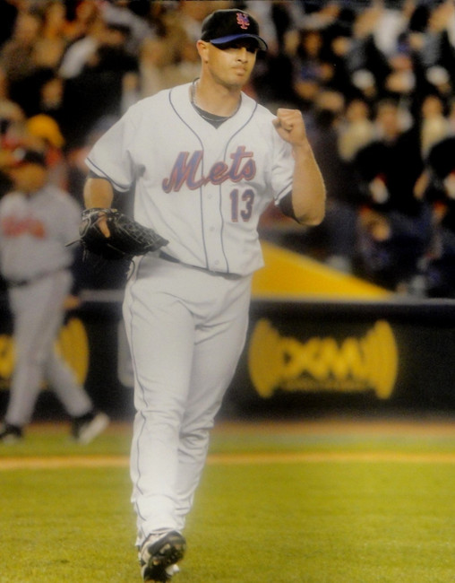 Billy Wagner Unsigned 16x20 Photo New York Mets Pitching Fist Pump #13