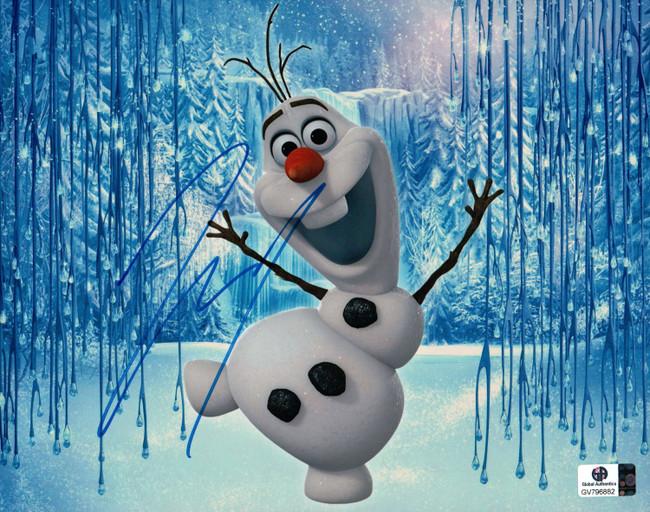 Josh Gad Signed Autographed 8X10 Photo Frozen Voice of Olaf GV796882