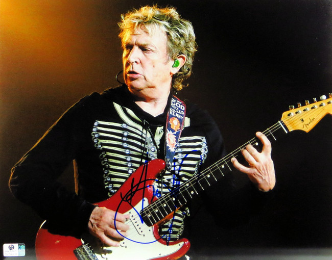 Andy Summers Signed Autographed 11X14 Photo The Police Guitarist On Stage 796638