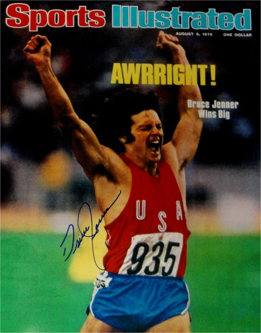 Bruce Jenner Signed Autograph 16x20 Photo Olympic Gold Medal Kardashians Caitlyn
