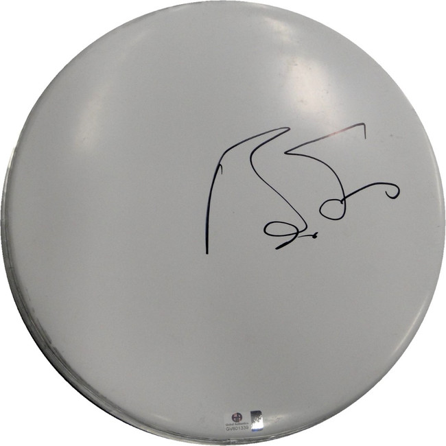 Boz Scaggs Hand Signed Autographed 10 Inch Drumhead GA GV 801339