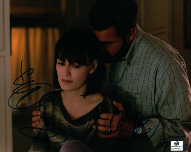 Adam Sandler Rosemarie DeWitt Signed 8X10 Photo Men, Women & Children GV806532