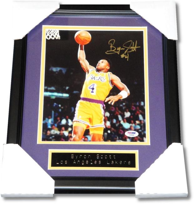 Byron Scott Hand Signed Autographed 8x10 Photograph Photo Lakers PSA/DNA