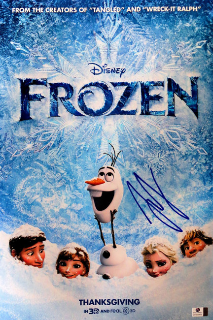 Josh Gad Signed Autographed 12X18 Photo Frozen Olaf Poster GV809438