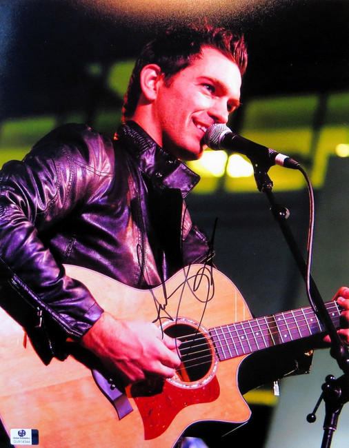 Andy Grammer Signed Autographed 11X14 Photo Performing with Guitar GV814344