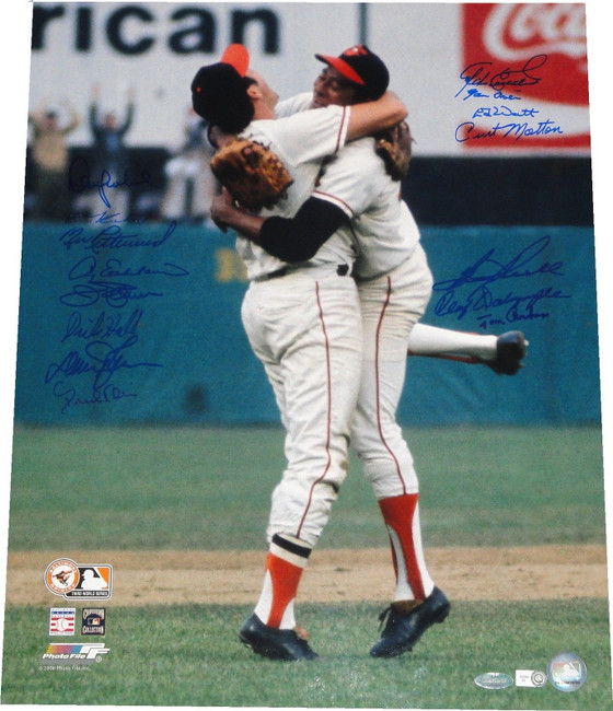 1970 World Champion Orioles 16X20 Signed Autograph Photo By 14 Jim Palmer More