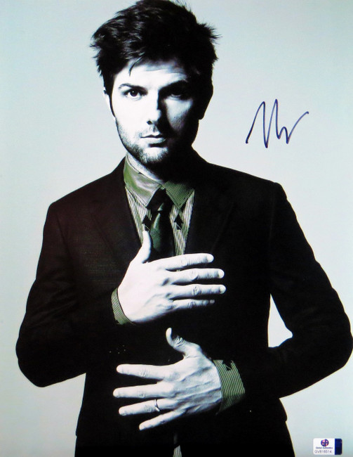 Adam Scott Signed Autographed 11X14 Photo Parks and Recreation GV816514