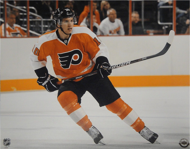 Brayden Schenn Unsigned 8x10 Photo Philadelphia Flyers UDA