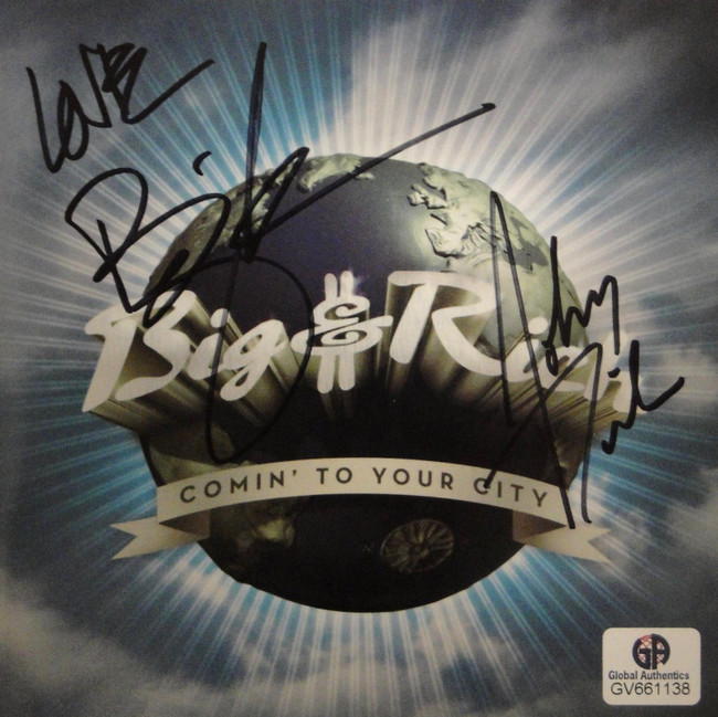 Big & Rich Hand Signed Autographed CD Cover Coming To Your City GA GV 661138