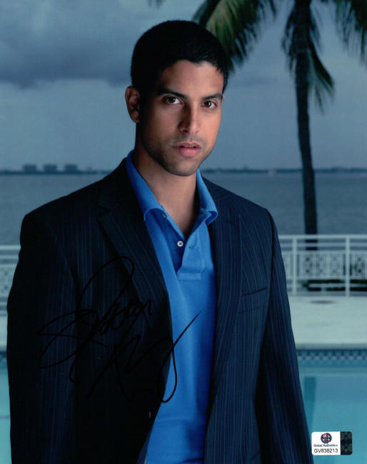 Adam Rodriguez Signed Autographed 8X10 Photo Sexy Sharp Jacket Stormy GV838213
