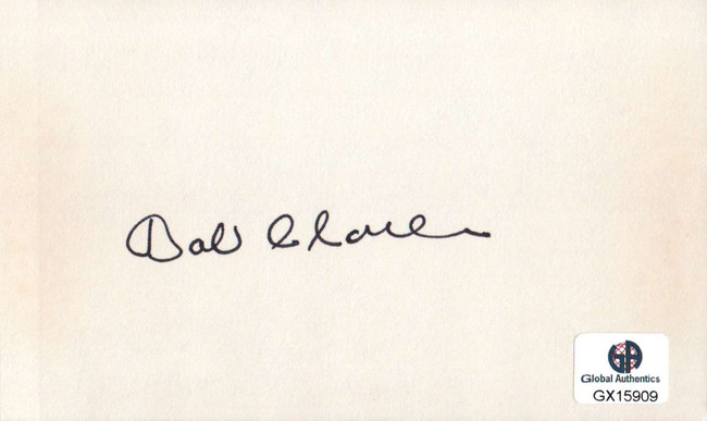Bob Charles Signed Autographed Index Card PGA Golf Legend Masters GX15909