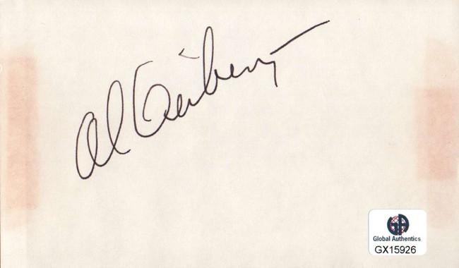 Al Geiberger Signed Autographed Index Card PGA Golf Legend Masters GX15926