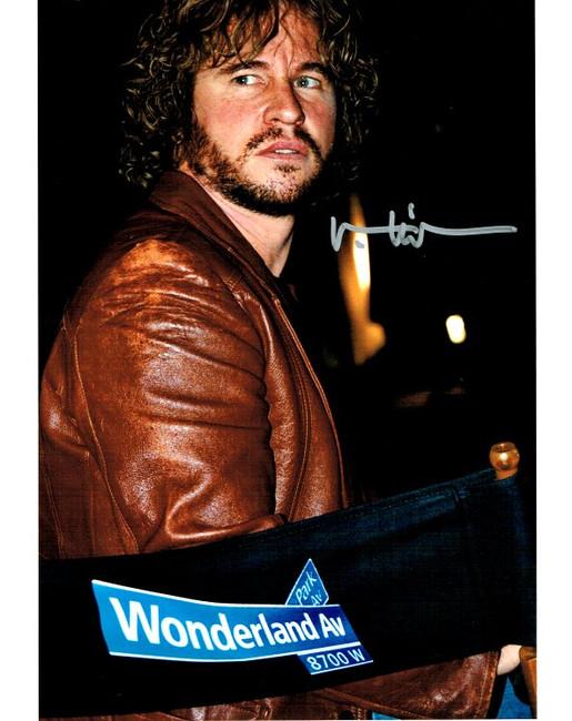 Val Kilmer Hand Signed Autographed 8x10 Photo Wonderland Ave Silver Ink JSA