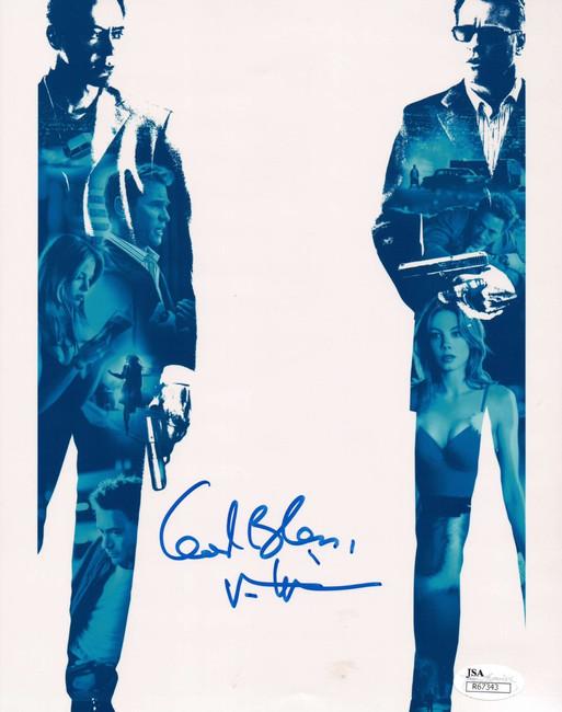 Val Kilmer Hand Signed Autographed 8x10 Photo Kiss Kiss Bang Bang God Bless JSA
