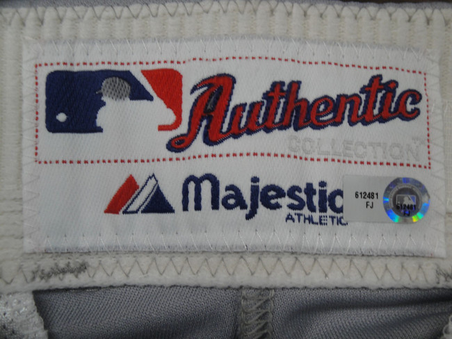 Davey Lopes Major League Baseball Dodgers Team Issued Road Baseball Pants 2481