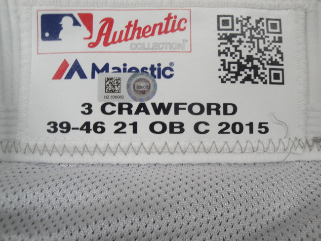 Carl Crawford Major League Baseball Dodgers Team Issued Road Baseball Pants 6082