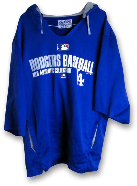 Brandon League 2014 Player Worn LA Dodger Hoodie Sweatshirt MLB HZ844108