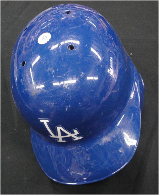 #64 Team Issued MLB Helmet Los Angeles Dodgers Shows use EK217867 Size 7 1/2