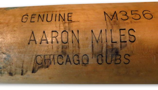 Aaron Miles Game Used Louisville Slugger Bat Broken Hit Dodgers 5/4/11  FJ333903