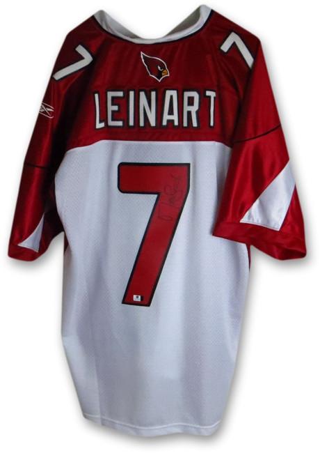 Matt Leinart Signed Autographed Jersey Arizona Cardinals Size L GV857809